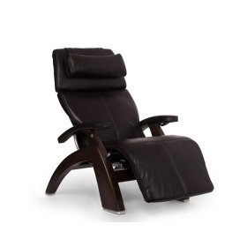 Perfect Chair PC-610 - Espresso Premium Leather - Dark Walnut