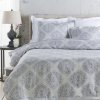 "Anniston ANN-7001 72"" x 84"" x 15"" CA King Bed Skirt"