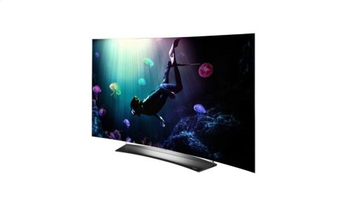 """C6 Curved OLED 4K HDR Smart TV - 55"""" Class (54.6"""" Diag)"""