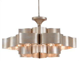 Grand Lotus Chandelier - 30rd x 16h Adjustable from 16 to 100h
