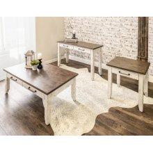 "Bear Creek End Table 24""x22""x24"""