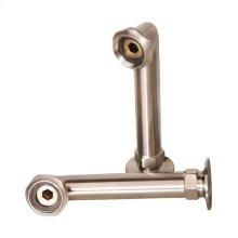 "6"" Faucet Elbows - Brushed Nickel"