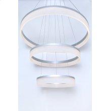 Saturn 3-Tier LED Pendant