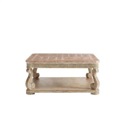 Juniper Dell Square Cocktail Table - English Clay