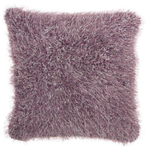 """Shag We403 Lavender 20"""" X 20"""" Throw Pillows"""