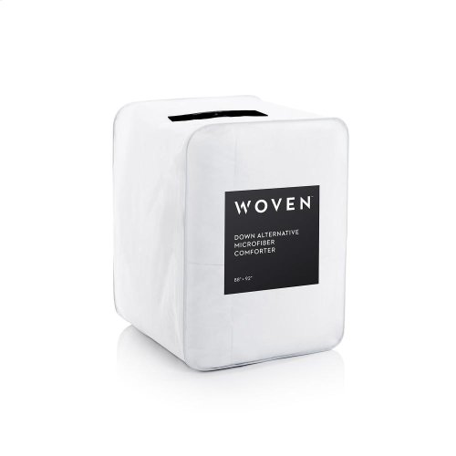 Down Alternative Microfiber Comforter - Oversized Queen