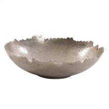 Silver Broken Edge Bowl / Wall Art