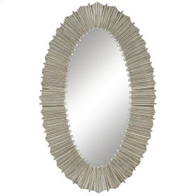 Silver Straws Mirror