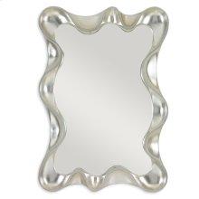 Scalloped Mirror - Silver