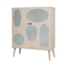 Vintage Mirrored Cabinet
