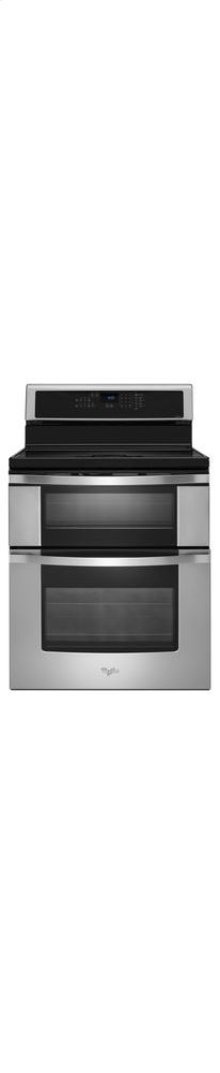 6.7 Total cu. ft. Double Oven Electric Range with Induction Cooktop