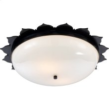 Visual Comfort AH4030GM-WG Alexa Hampton Rachel 2 Light 18 inch Gun Metal Flush Mount Ceiling Light
