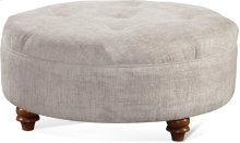 "Downing 40"" Round Cocktail Ottoman"