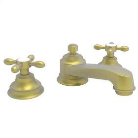 Satin Brass - PVD Widespread Lavatory Faucet