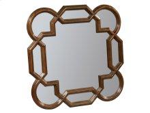 Vintage European Square Lattice Mirror