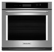 """30"""" Single Wall Oven with Even-Heat Thermal Bake/Broil - Stainless Steel Product Image"""