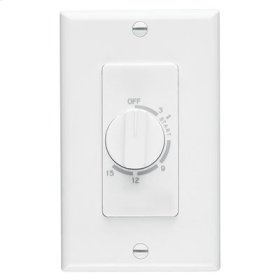 15 Minute Time Control, White, 20/10 amps, 120/240V