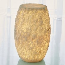 Alabastri Rock-Lighted Accent Table
