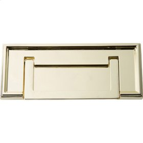 Campaign Rope Drop Pull 3 Inch - Polished Brass