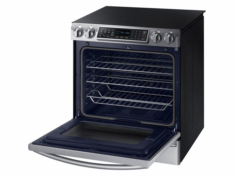 Ft. Slide In Induction Range With Virtual Flame