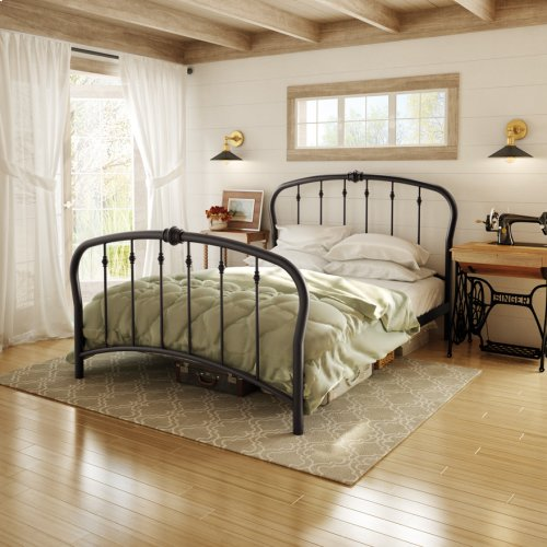Vanna Regular Footboard Bed - Queen