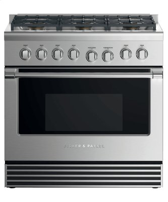 "Gas Range, 36"", 6 Burners, LPG"