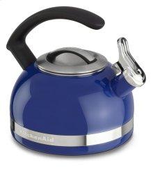 2.0-Quart Stove Top Kettle with C Handle - Doulton Blue