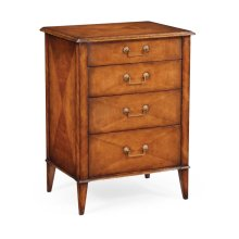 Satinwood Bedside Chest of Drawers