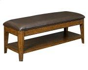 Estes Park Upholstered Seat Storage Bench Product Image