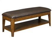 Estes Park Upholstered Seat Storage Bench Product Image