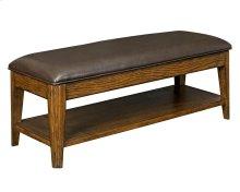 Estes Park Upholstered Seat Storage Bench