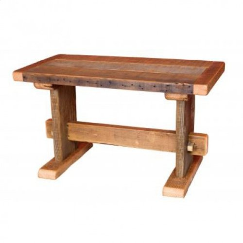 Reclaimed bench short