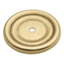 1-7/8 In. Manor House Lancaster Hand Polished Knob Backplate