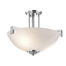Eileen Collection Pendant/Semi Flush 3 Light CH