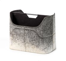 Anja Magazine Rack - Grey