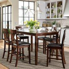 7 Piece Gathering Table Set
