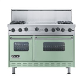 "Sage 48"" Open Burner Range - VGIC (48"" wide, four burners 24"" wide griddle/simmer plate)"