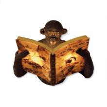 MONKEY BOOK SCONCE