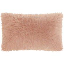 "Fur Fl101 Rose 1'2"" X 2' Throw Pillows"