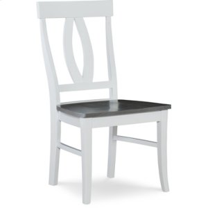 JOHN THOMAS FURNITUREVerona Chair Heather Gray / White