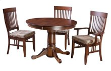 "36-2-12"" Leaf Pedestal Table"