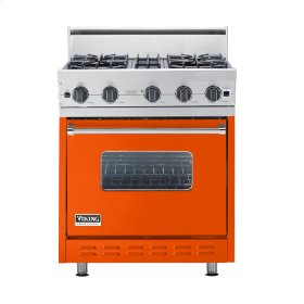 "Pumpkin 30"" Open Burner Range - VGIC (30"" wide, four burners)"
