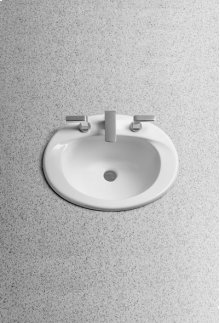Cotton Supreme® Self Rimming Lavatory - SanaGloss® - ADA