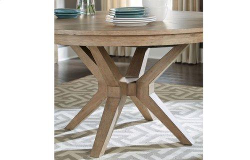 Bridgewater Round Leg Table Complete