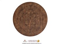 Bistro Top Reclaimed Wood w/ Aztec Calendar Printed