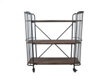 Emerald Home Ac102-45 Laurell Hill Bookcase, Patina Gray