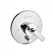 TH400 - Pressure Balance Mixing Valve Trim with Diverter - Polished Chrome