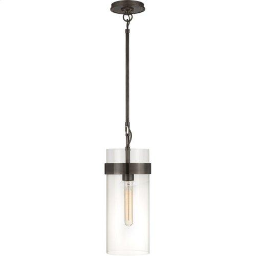 Visual Comfort S5673BZ-CG Ian K. Fowler Presidio 1 Light 4 inch Bronze Pendant Ceiling Light, Small