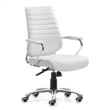 Enterprise Low Back Office Chair White