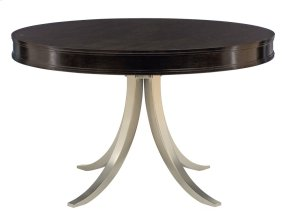 Haven Round Dining Table in Haven Raven (346)
